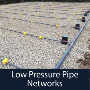 Low Pressure Pipe Networks