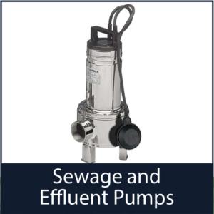 Sewage and Effluent Pumps